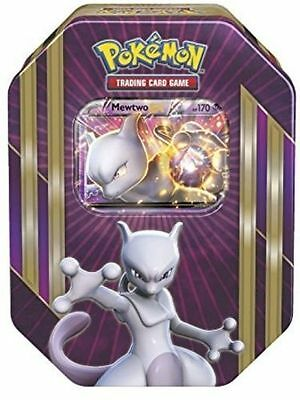 Pokemon TCG Spring Tin 2016 MEWTWO EX BRAND NEW & SEALED RARE