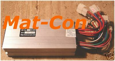 Motor Controller Electronics 36V DC to 250W 20A, Carbon brushes