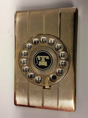 Vintage Mid Century Modern Telephone Dial-o-matic Index by Eagle Phonebook