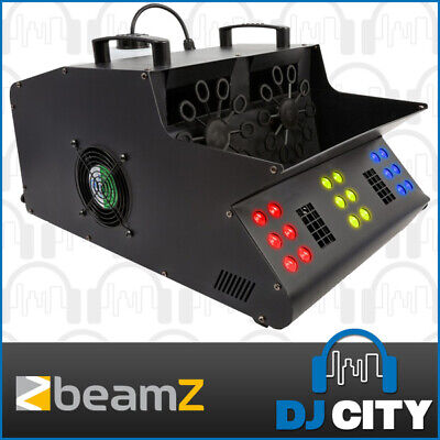Beamz SB2000-LED Smoke Bubble Machine Stage DJ Effect with RGB LED Wash Lights