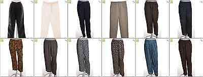 """JOB LOT OF 35 VINTAGE WOMEN""""S TROUSERS - Mix of Era's, styles and sizes (17966)*"""