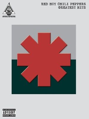 New Red Hot Chili Peppers Greatest Hits Guitar Tab Music Book