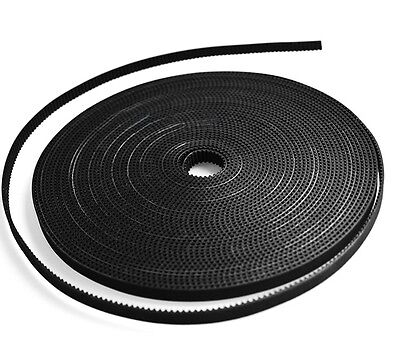MXL-10mm PU Rubber Synchronous Timing Belt Open Belt For 3D Printer x1Meter