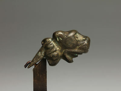 Roman Bronze Leopard Attachment