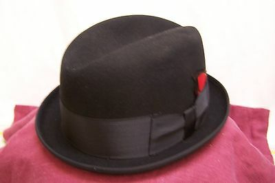 Beautiful Men's Wright Imported Coney Fur Hat--Size 7 1/4