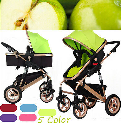 Durable Children Baby Carriage Foldable Strollers Pushchair Pram Travel System
