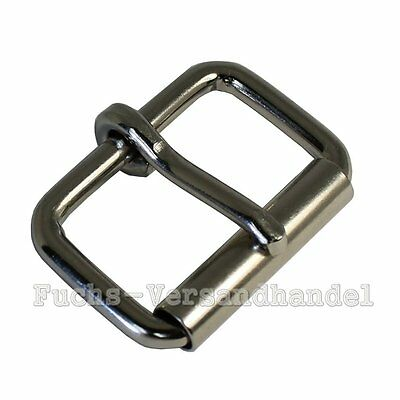 50 Pcs Rolling clamp 20mm Steel Metal Roll buckle Buckles nickel-plated 20 mm