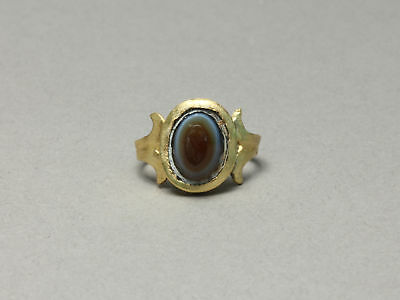 Roman Child Ring with Eye Agate