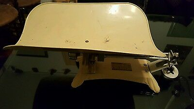 Detecto  - Lette Jacobs Bros Co Baby Scale.Vintage Maybe Antique.