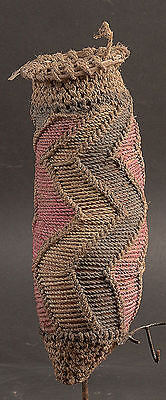 Woven Bark Fibre Over Gourd Phallus Cover Sepik River   Papua New Guinea