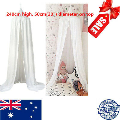 Canopy Bed Netting Mosquito Baby Bedding Net Dome Kids Reading Play Tents Cotton