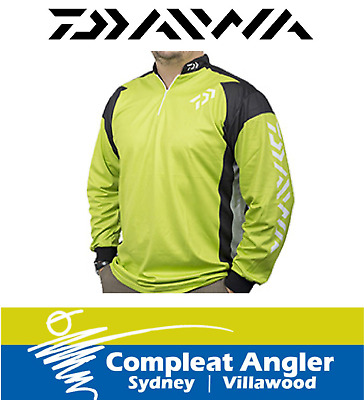 Daiwa Long Sleeve Green Large Tournament Shirt BRAND NEW At Compleat Angler