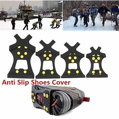 LOT Snow cleats Anti-Slip overshoes Studded Ice Traction shoe covers Spike LO