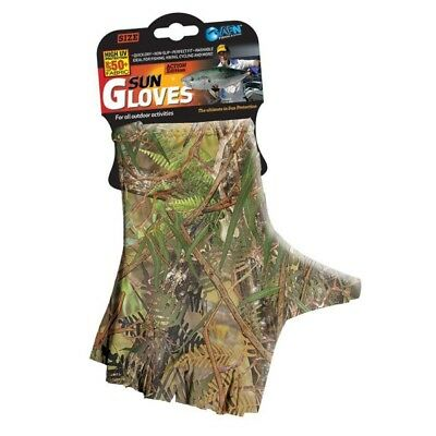 Sun Gloves 50+ UPF Protection Gloves (Camo Colour)-SYD Stock
