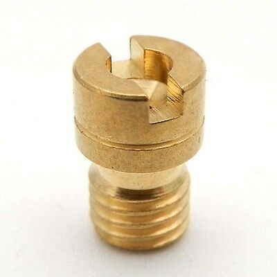 Brass Main Jet 6mm Head w/ 5mm Thread for Mikuni SBN Carburetor