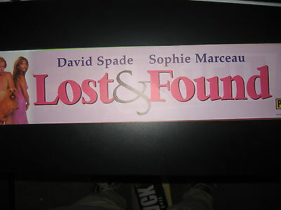 Theater Marquee Mylar Lost and Found