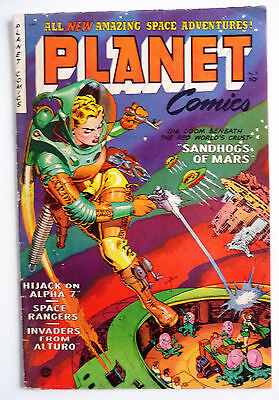 planet comics 71 1953 love romance publishing