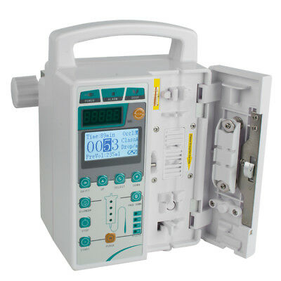 Infusion Pump- IV & Fluid equipment voice alarm Monitor KVO Purge + Memory Sale!