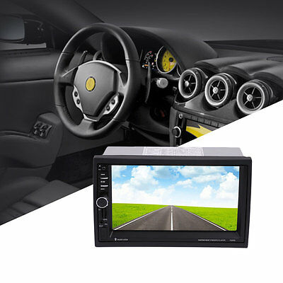 1080P Car Audio Stereo MP5 Player with Rearview Camera 7inch Touch Screen AU