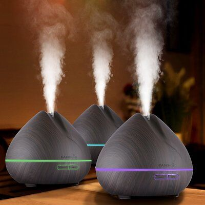 400ML Light Ultrasonic Aroma Humidifier Air Diffuser Purifier Atomizer for Home