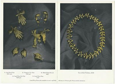 Jewels by Dali - 1960s Salvador Dali Designed Gold Jewelry Brochure