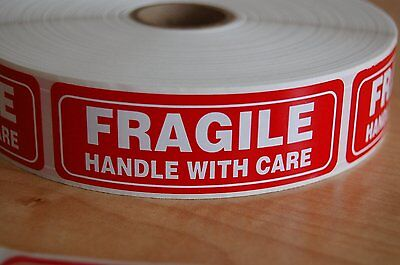 Pro TEK FRAGILE Sticker Handle With Care Shipping Labels-Self-Adhesive stickers