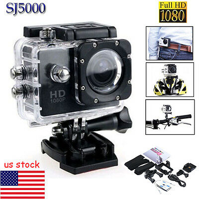 Pro SJ5000 1080P FHD Waterproof DV Sports Recorder Action Camera Camcorder Cam