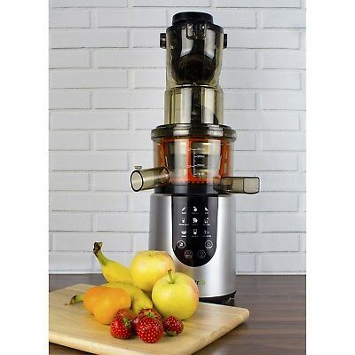 electriQ IQWFSL Whole Fruit Cold Press Juicer Perfect For Greens Juices a IQWFSL