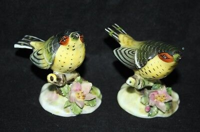 Royal Adderley - A Pair of Warbler Ornaments