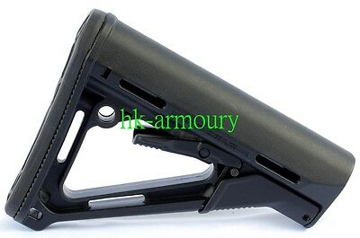 PTS Version CTR Stock For Airsoft AEG GBB (Black)