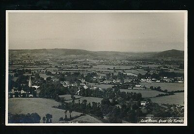 Somerset EAST BRENT from The Knoll c1930/50s? RP PPC