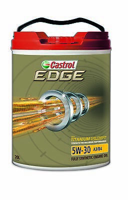 Castrol EDGE 5W30 A3 B4 Engine Oil 20L 3383344
