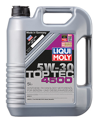 LIQUI MOLY Top Tec 4500 Synthetic Technology Engine Oil 5W-30 5L
