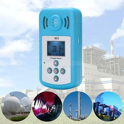 Portable KXL-803 LCD Oxygen Concentration Meter Detector Sound-light Alarm E7A6