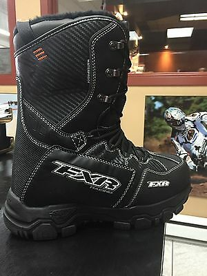 FXR X Cross Boots Black Size Mens 6 Womans 8