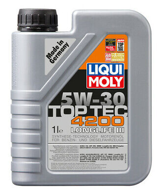 LIQUI MOLY Top Tec 4200 Synthetic Technology Engine Oil 5W-30 1L