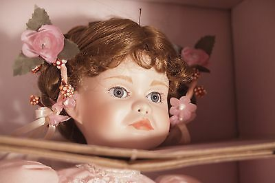 Paradise Galleries Porcelain Doll A Party for Sarah by Patricia Rose