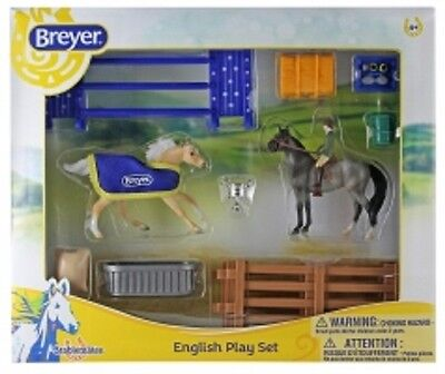 Breyer Stablemate Horse #6027 English Play Set NEW FOR 2017 Pre-Order