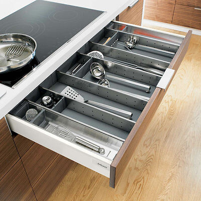 Blum Orga-line Utensil Dividers, Various Widths, Suits Blum Tandembox Drawers