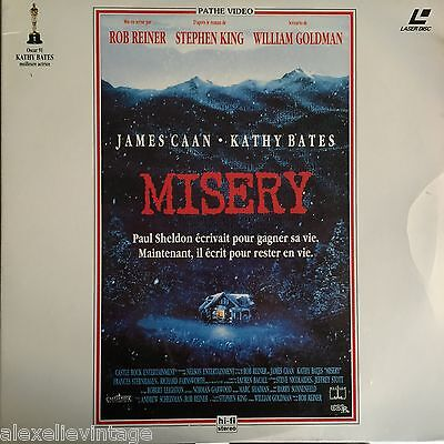 LASERDISC - MISERY - PAL VF - Stephen King
