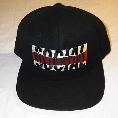 Nos Oop Social Distortion Band Logo Hat Self Titled Album From Anniversary Tour
