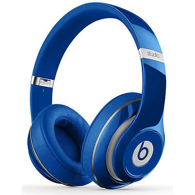 Genuine Beats By Dr Dre Studio 2.0 Wired Over-Ear Headphone - Blue