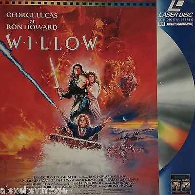 Laserdisc Rare - Willow -Pal Vf Val Kilmer Ron Howard