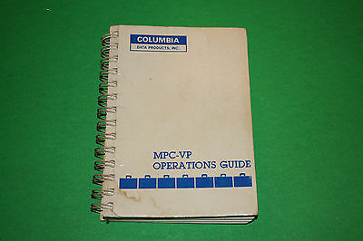 MPC-VP Operations Guide Columbia Data Products 1983
