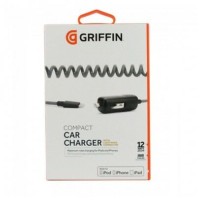 Genuine Griffin PowerJolt Lightning In Car Charger For iPhone 7 5s Se 6 7 Plus