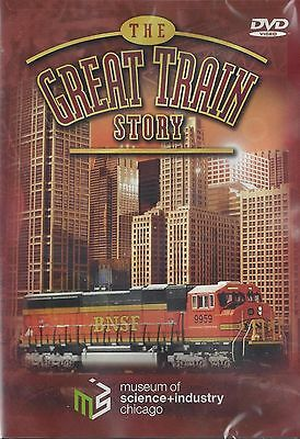 DVD THE GREAT TRAIN STORY Spectacular Train Exhibit, Chicago's Museum of Science