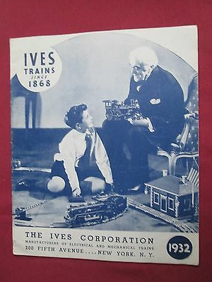Ives Model Railway Catalogue 1932 American