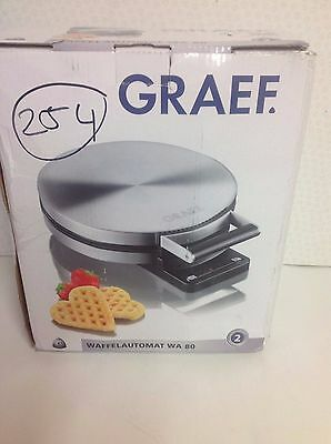 Graef WA80 Stainless Steel Waffle Maker RRP £99.99