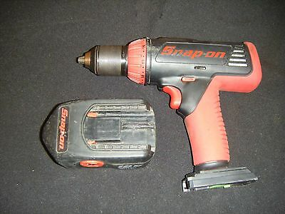 "Snap On  1/2"" Cordless 18V Drill & Battery CDR6850"