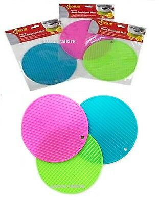 Kitchen Coasters Trivets Mat Silicone Heat Resistant Non-Slip Hot Pot Dish Pan
